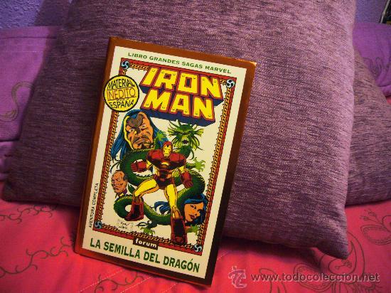IRON MAN. LA SEMILLA DEL DRAGON. GRANDES SAGAS MARVEL- 1994 - FORUM - OFERTA (Tebeos y Comics - Forum - Iron Man)