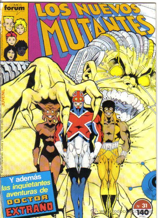 LOS NUEVOS MUTANTES Nº 31, DE RETAPADO. (Tebeos y Comics - Forum - Nuevos Mutantes)
