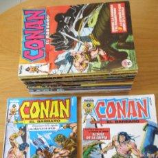 Cómics: CONAN EL BARBARO FORUM 1ª EDICION LOTE DEL 1 AL 15. Lote 30447451