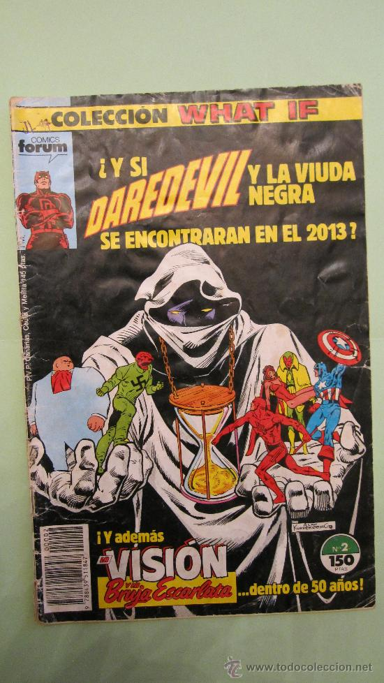 FORUM: COLECCION WHAT IF Nº 2 :DAREDEVIL Y LA VIUDA NEGRA; VISION Y BRUJA ESCARLATA......UN LUJO (Tebeos y Comics - Forum - Daredevil)
