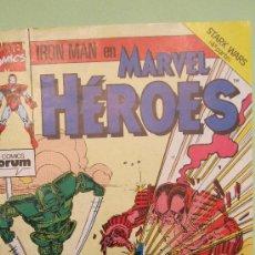 Cómics: FORUM: IRON MAN EN MARVEL HEROES. Nº 56.DE HOMBRE A MANDROIDE .. Lote 40042555