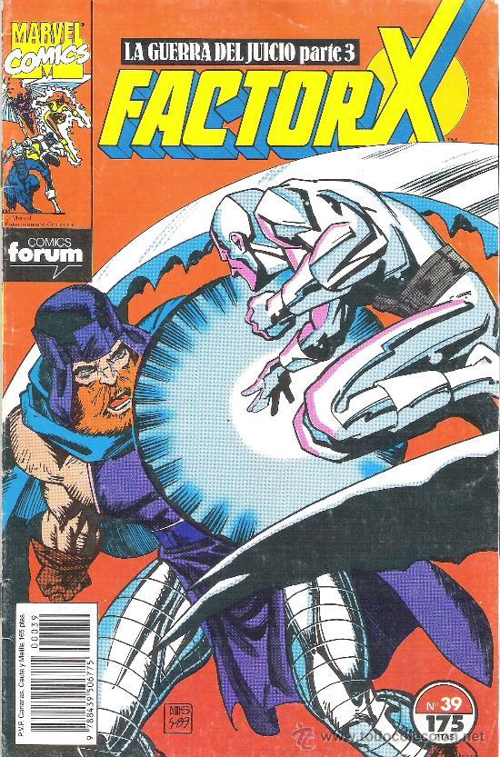 1 COMIC - AÑO 1991 - Nº 39 - LA GUERRA DEL JUICIO PARTE 3 - FACTOR X (EDITA FORUM MARVEL) (Tebeos y Comics - Forum - Factor X)