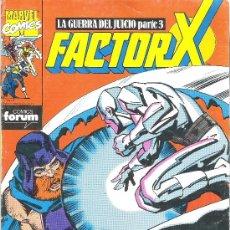 Cómics: 1 COMIC - AÑO 1991 - Nº 39 - LA GUERRA DEL JUICIO PARTE 3 - FACTOR X (EDITA FORUM MARVEL). Lote 30636513