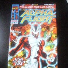 Comics: ALPHA FLIGHT VOL. 2 Nº 1 STEVEN SEAGLE FORUM .........C17X3. Lote 204392012