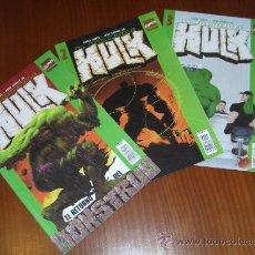 Cómics: EL INCREIBLE HULK Nº 1 A 3 - VOL. 2 - COMICS FORUM - ETAPA BRUCE JONES Y JOHN ROMITA JR.. Lote 30663222