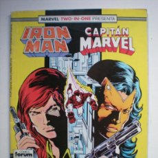 Cómics: MARVEL TWO IN ONE: IRON MAN Y CAPITÁN MARVEL 47. Lote 30686839