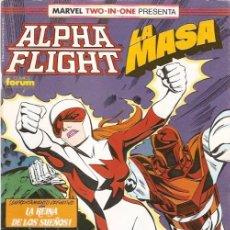 Cómics: MARVEL TWO-IN-ONE: ALPHA FLIGHT & LA MASA VOL.1 Nº 60. Lote 147888588