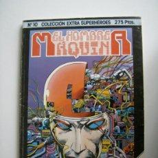 Cómics: EL HOMBRE MÁQUINA. BARRY W. SMITH. COLECCIÓN EXTRA SUPERHÉROES Nº 10. FORUM, 1985.. Lote 30834402