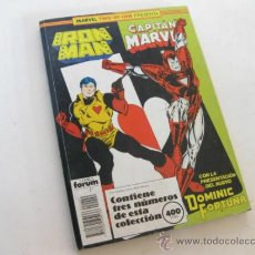 Cómics: MARVEL TWO IN ONE - TWO-IN-ONE - TRES COMICS - IRON MAN - CAPITAN MARVEL - VER FOTOS. Lote 30868909