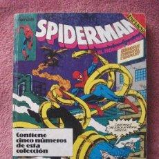 Cómics: SPIDERMAN NºS 206 AL 210 EN UN TOMO COMICS FORUM. Lote 31682494