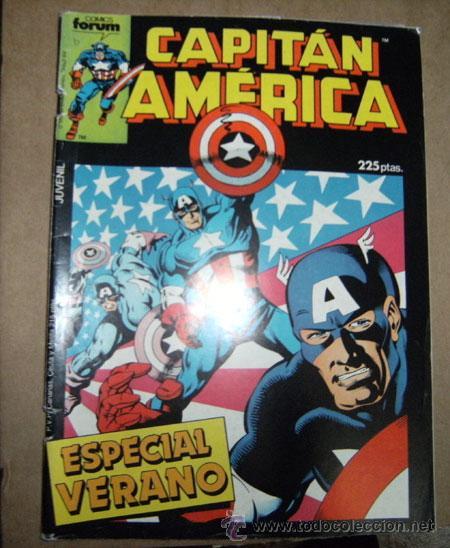 CAPITÁN AMÉRICA ESPECIAL VERANO 1987 FORUM (Tebeos y Comics - Forum - Capitán América)