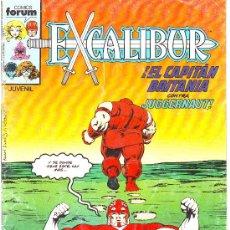 Cómics: EXCALIBUR Nº 3 COMICS FORUM CAPITAN BRITANIA CONTRA JUGGERNAUT LA COSA . Lote 30896509