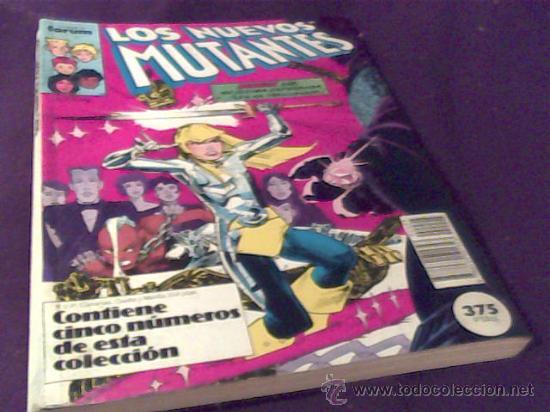 LOS NUEVOS MUTANTES. COMICS FORUM. TOMO CON CINCO NUMEROS: 36, 37, 38, 39 Y 40. RUSTICA. COLOR. (Tebeos y Comics - Forum - Nuevos Mutantes)