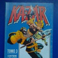Comics: KA-ZAR TOMO 3 ( NÚM. 11 AL 15). Lote 30944655