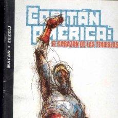 Cómics: CAPITAN AMERICA: EL CORAZON DE LAS TINIEBLAS - MARVEL COMICS - FORUM. Lote 30959600