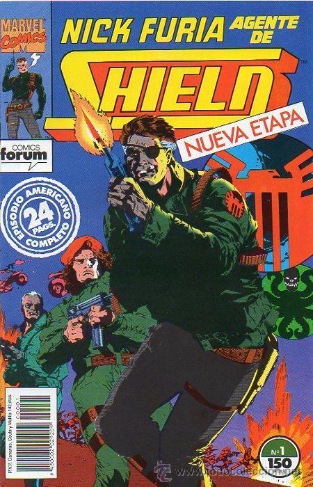 NICK FURIA AGENTE DE SHIELD VOL 2 - FORUM - NUEVA ETAPA COMPLETA 1 2 3 4 5 Y 6 NÚMEROS - (Tebeos y Comics - Forum - Furia)