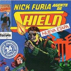 Cómics: NICK FURIA AGENTE DE SHIELD VOL 2 - FORUM - NUEVA ETAPA COMPLETA 1 2 3 4 5 Y 6 NÚMEROS -. Lote 223289465