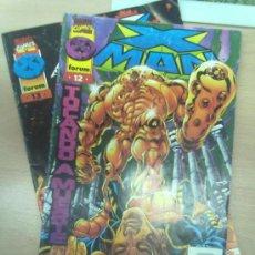 Cómics: X-MAN VOL. II -LOTE NºS 12 Y 13- (MIRAR FOTOS). Lote 31084153