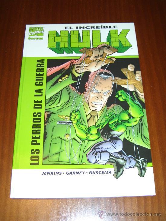 HULK - LOS PERROS DE LA GUERRA - JENKINS - GARNEY - BUSCEMA (Tebeos y Comics - Forum - Hulk)