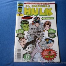 Cómics: COMIC FORUM VOL III Nº 2 INCREIBLE HULK MUERTE DE BRUCE BANNER BY KUBERT Y DAVID 1996 J1. Lote 31127170