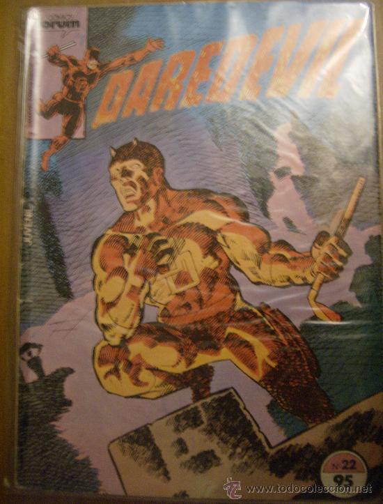 DAREDEVIL Nº 22. FORUM, 1984. (Tebeos y Comics - Forum - Daredevil)