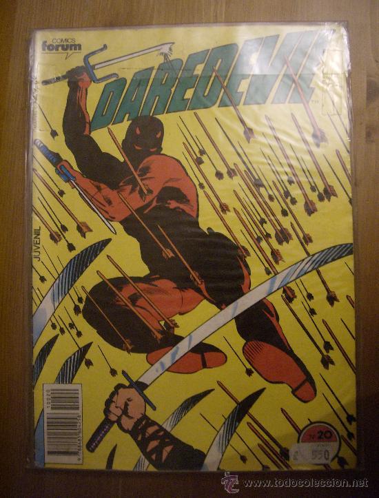 DAREDEVIL Nº 20. FORUM, 1984. (Tebeos y Comics - Forum - Daredevil)