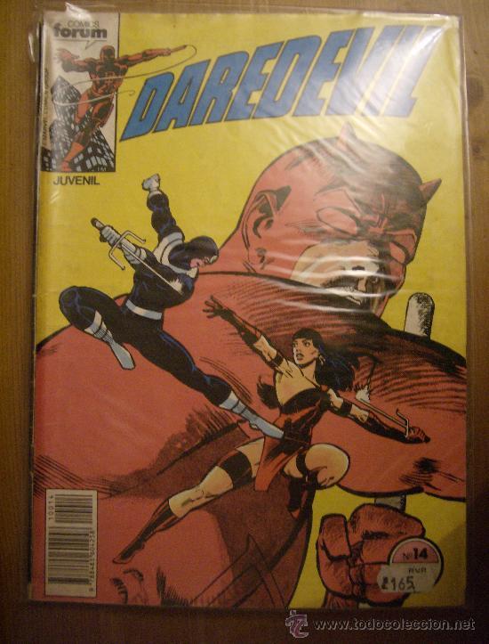 DAREDEVIL Nº 14. FORUM, 1983. (Tebeos y Comics - Forum - Daredevil)