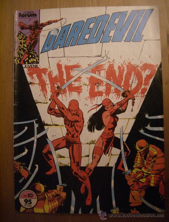 DAREDEVIL Nº 10. FORUM, 1983. (Tebeos y Comics - Forum - Daredevil)
