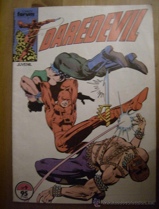 DAREDEVIL Nº 09. FORUM, 1983. (Tebeos y Comics - Forum - Daredevil)