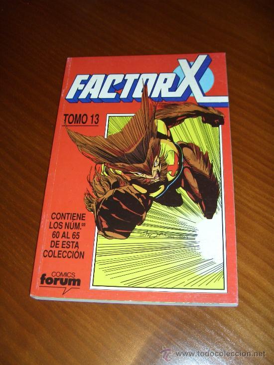 RETAPADO FACTOR X Nº 60 A 65 - PETER DAVID - TOMO 13 - COMICS FORUM (Tebeos y Comics - Forum - Hulk)