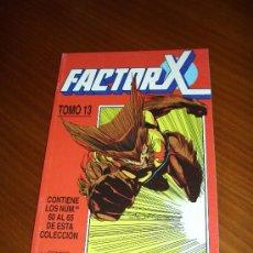 Cómics: RETAPADO FACTOR X Nº 60 A 65 - PETER DAVID - TOMO 13 - COMICS FORUM. Lote 31224768