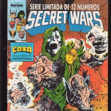 Cómics: SECRET WARS Nº 10 - EDITA : FORUM - AÑOS 80. Lote 31275868