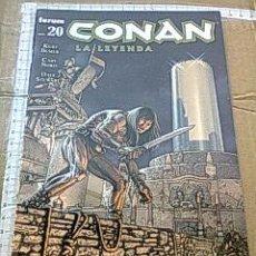 Cómics: COMIC BARBAROS FORUM: CONAN LA LEYENDA 20 KURT BUSIEK TORRE ELEFANTE KJ.E. Lote 128201991