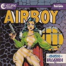 Cómics: AIRBOY # 3 (FORUM,1990) - ECLIPSE COMICS . Lote 31392386
