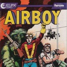 Cómics: AIRBOY # 2 (FORUM,1990) - ECLIPSE COMICS . Lote 31392426