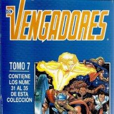 Cómics: LOS VENGADORES TOMO Nº 7 CON LOS NUMEROS 31 AL 35. Lote 31399026