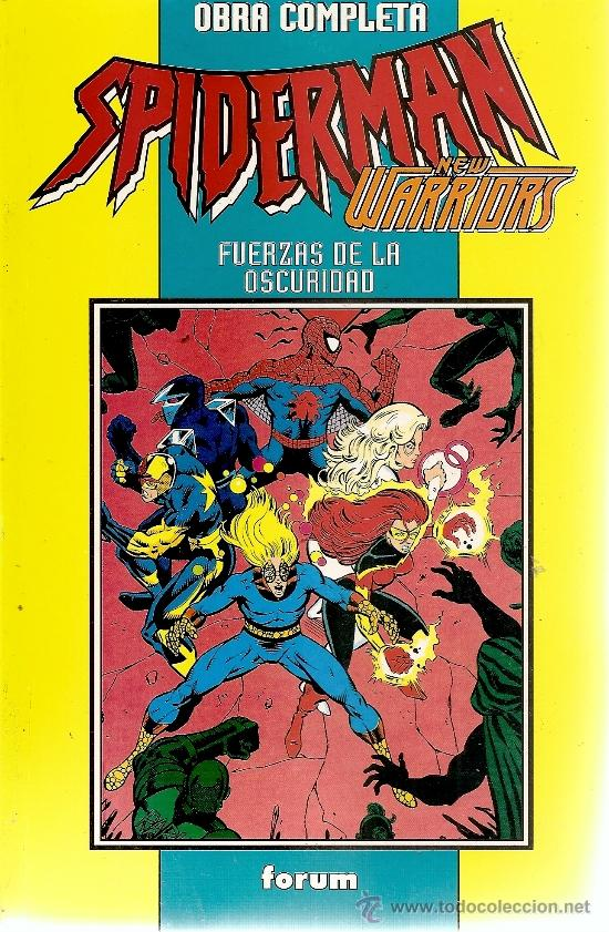 SPIDERMAN Y NEW WARRIOORS 4 NUMEROS COMPLETA (Tebeos y Comics - Forum - Retapados)