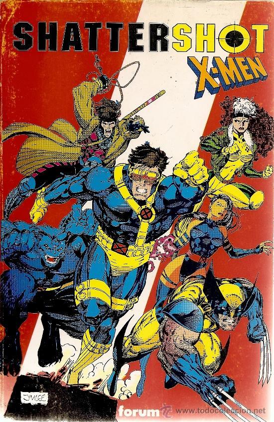 SHATTERSHOT Y X-MEN (Tebeos y Comics - Forum - Prestiges y Tomos)
