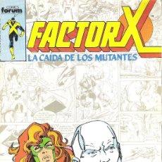 Cómics: 1 COMIC AÑO 1988 - Nº 24 - FACTOR X - LA CAIDA DE LOS MUTANTES ( EDITA FORUM - MARVEL ) . Lote 31554961