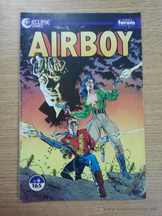 AIRBOY #6 ECLIPSE COMICS (Tebeos y Comics - Forum - Otros Forum)