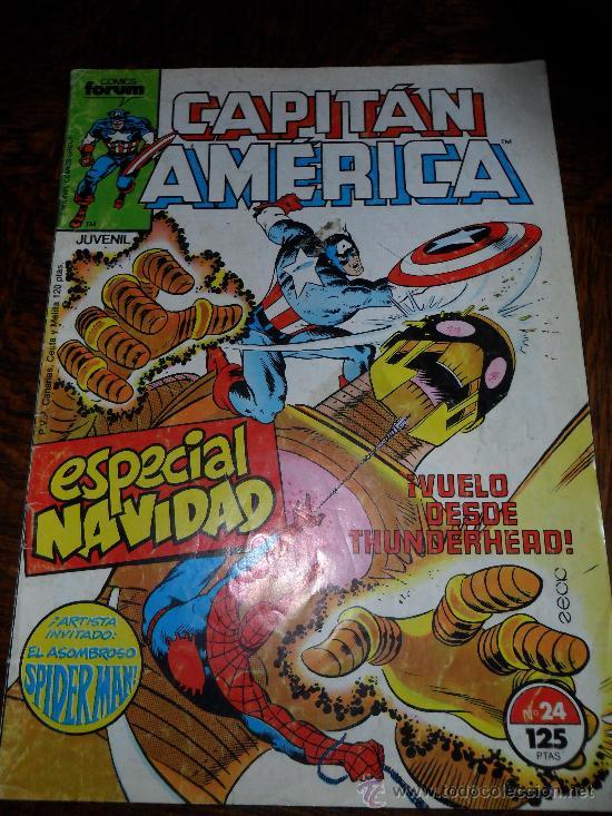 EL CAPITAN AMERICA, V.1 N·24 (Tebeos y Comics - Forum - Capitán América)