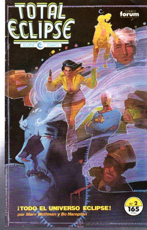 TOTAL ECLIPSE, FORUM COMICS, Nº 2. (Tebeos y Comics - Forum - Otros Forum)