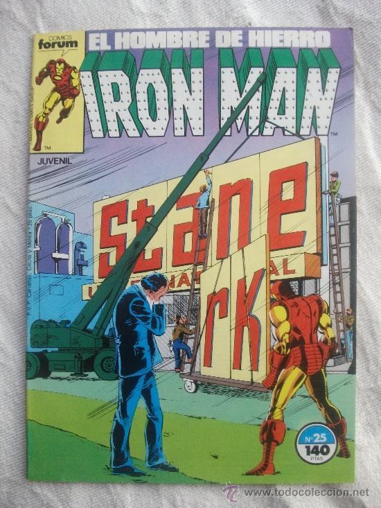 IRON MAN Nº 25 COMICS FORUM (Tebeos y Comics - Forum - Iron Man)
