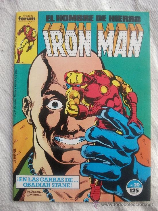 IRON MAN Nº 20 COMICS FORUM (Tebeos y Comics - Forum - Iron Man)