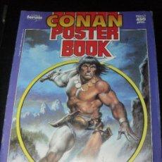 Cómics: CONAN POSTER BOOK Nº 1. COMICS FORUM.. Lote 31653536
