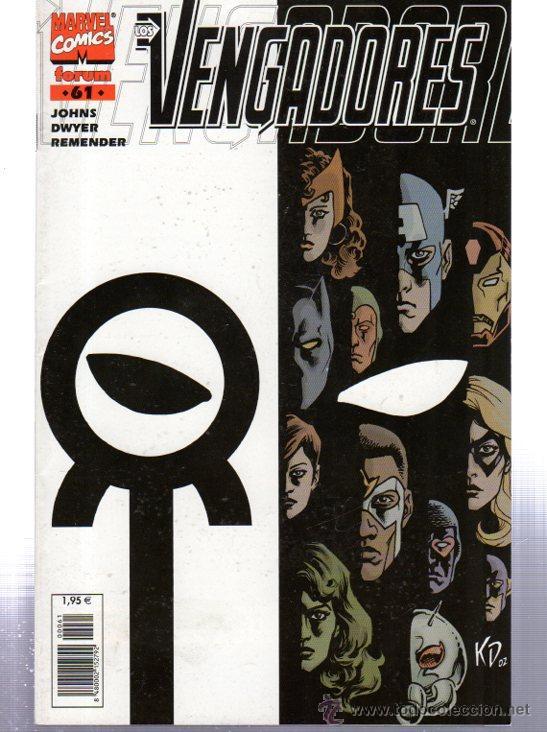 MARVEL COMICS, LOS VENGADORES, Nº 61, COMICS FORUM (Tebeos y Comics - Forum - Vengadores)