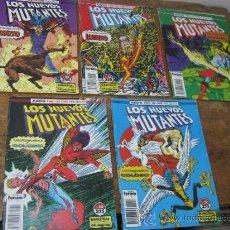 Cómics: LOTE 5 COMICS LOS NUEVOS MUTANTES FORUM. Lote 31783205
