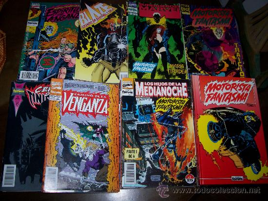 Cómics: MOTORISTA FANTASMA Vol.1 COMPLETO+VARIAS SERIES Y TOMOS FORUM - Foto 1 - 31836276