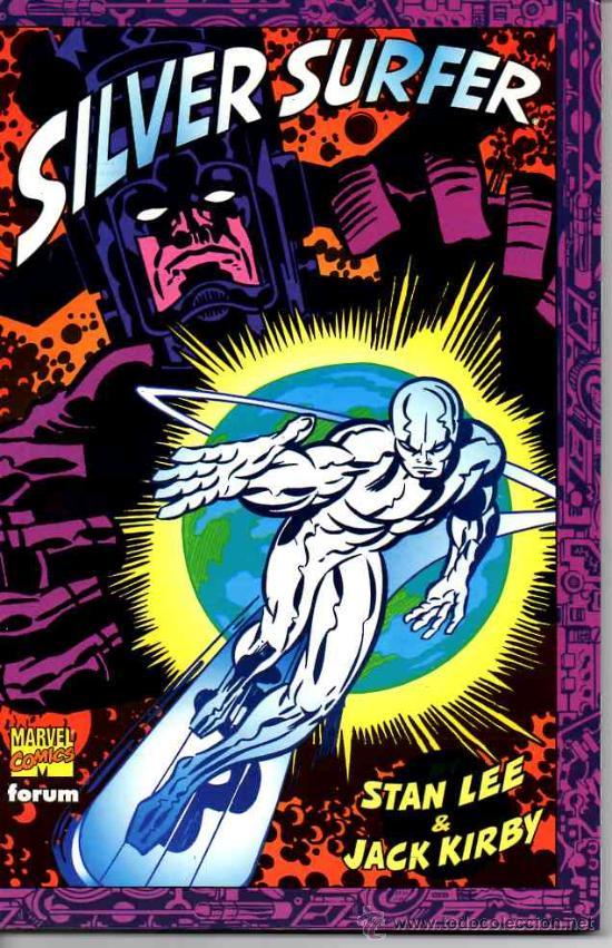 SILVER SURFER POR STAN LEE & JACK KIRBY (FORUM,1998) (Tebeos y Comics - Forum - Silver Surfer)