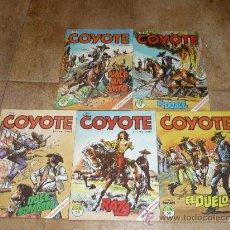 Cómics: EL COYOTE FORUM Nº S 1 2 3 4 5. Lote 31885676